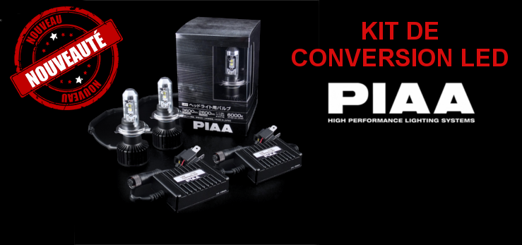KIT DE CONVERSION LED PIAA