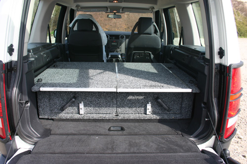 Pr paration 4x4 landrover discovery iii for Amenager son interieur