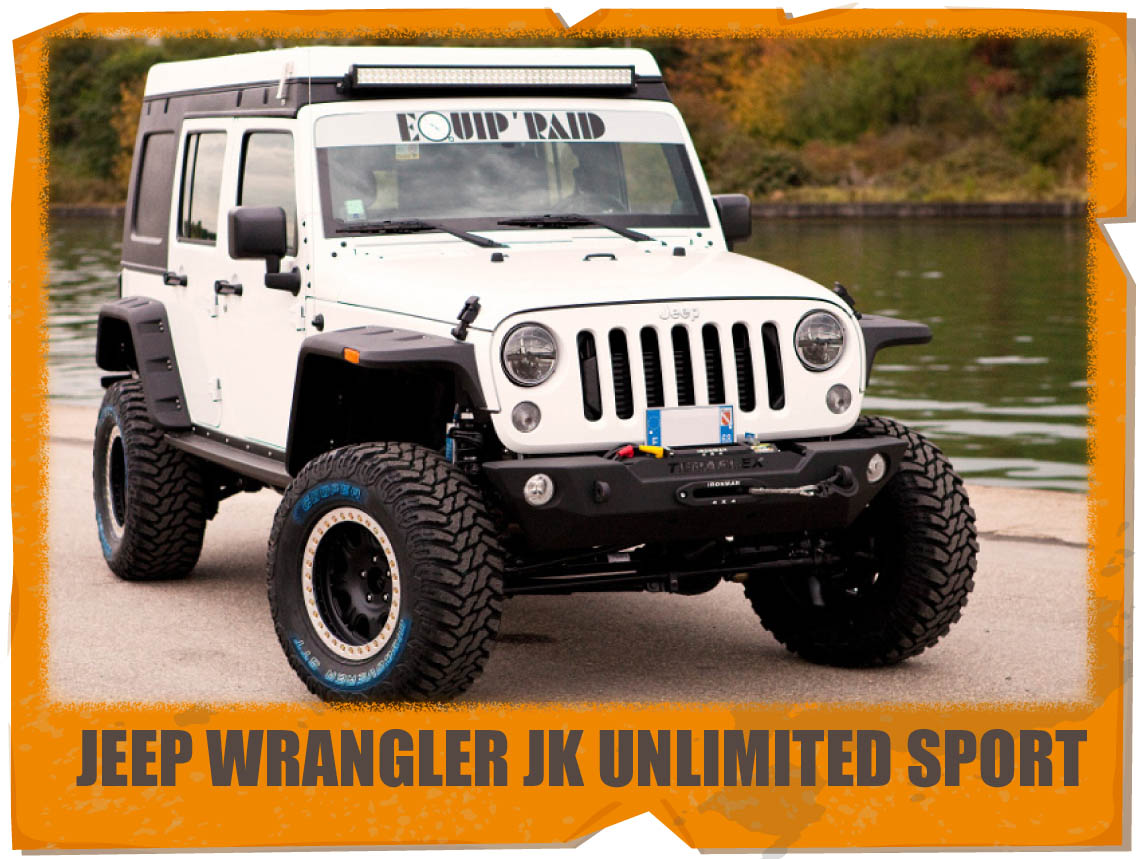 jeep wrangler jk unlimited SPORT