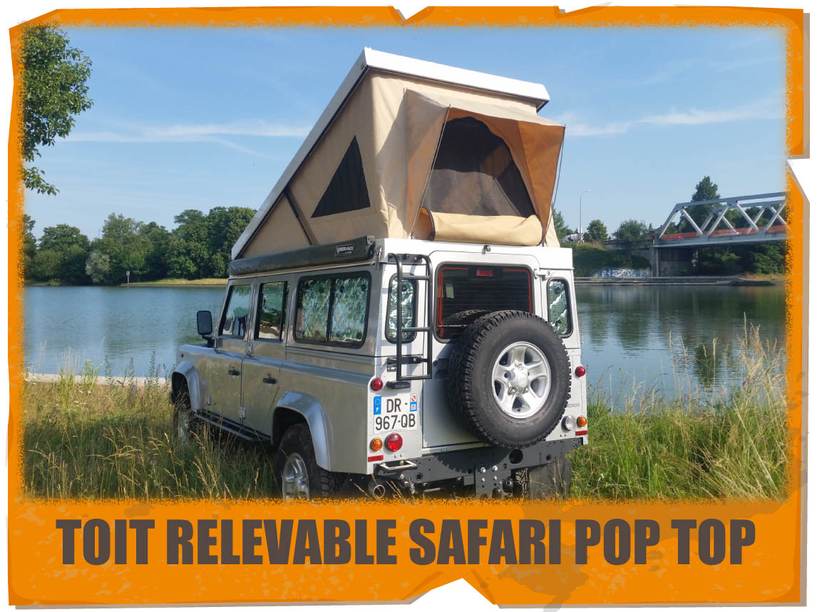 TOIT RELEVABLE SAFARI POP TOP