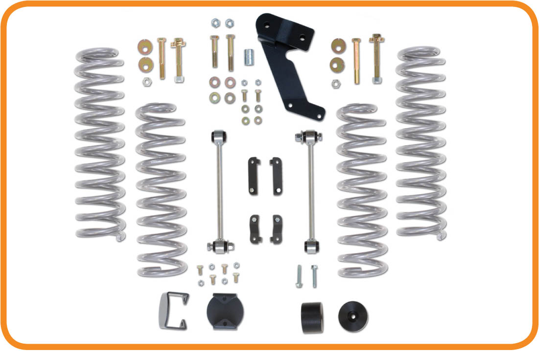 Kit Rehausse Rubicon express +2.5''