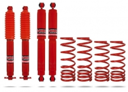 KIT DE SUSPENSION REHAUSSE +50MM PEDDERS POUR LAND ROVER DEFENDER 90 A PARTIR DE 1983