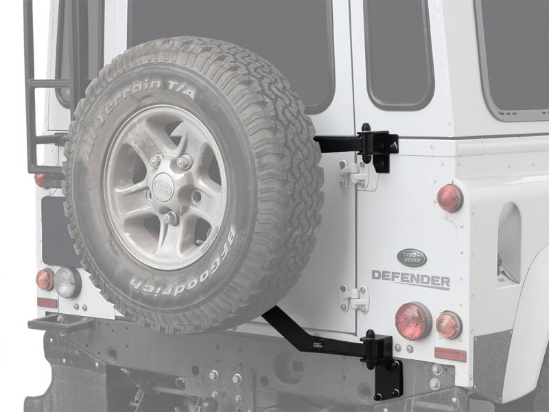 Achetez Frontrunner Porte Roue De Secours Pour Land Rover Defender 90 110 Station Wagen Front