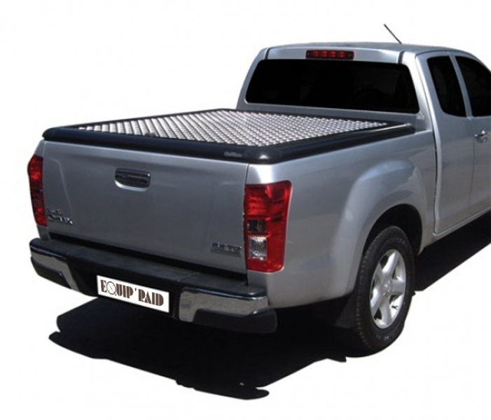 achetez couvre tonneau en aluminium pour isuzu d max 2012. Black Bedroom Furniture Sets. Home Design Ideas