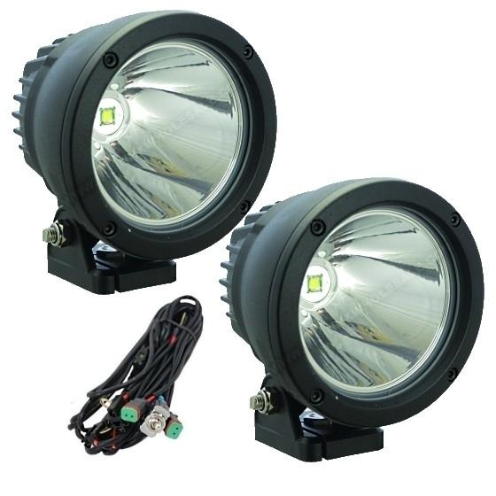 Achetez Vision X LONGUE PORTEE CANNON LED WATTS VISIONX Au - Feux longue portée led
