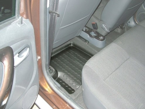 achetez carbox tapis de sol arriere gauche pour dacia duster 4x2 et 4x4 de 04 2010 a 12 2013. Black Bedroom Furniture Sets. Home Design Ideas