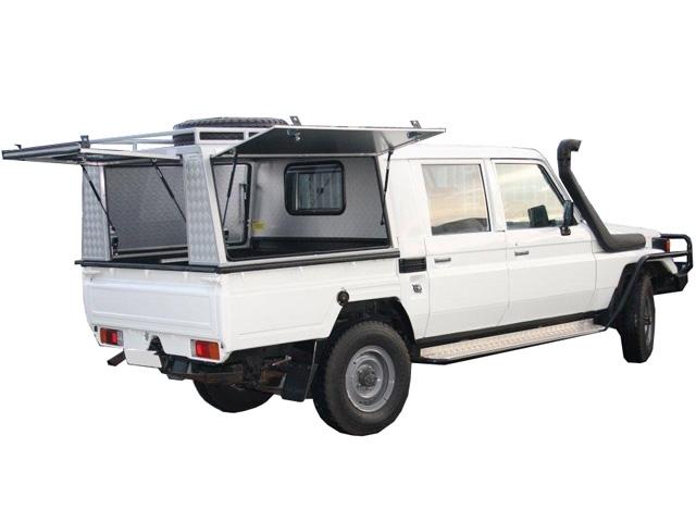 achetez alu cab hardtop pour pick up double cabine pour toyota land cruiser hzj 79 au meilleur. Black Bedroom Furniture Sets. Home Design Ideas