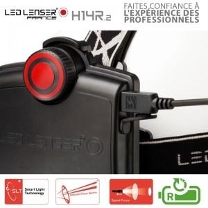 achetez led lenzer lampe frontale led lenser h14r2 au. Black Bedroom Furniture Sets. Home Design Ideas