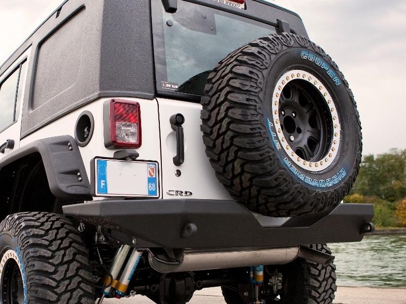 achetez teraflex porte roue de secours teraflex pour jeep wrangler jk au meilleur prix chez. Black Bedroom Furniture Sets. Home Design Ideas