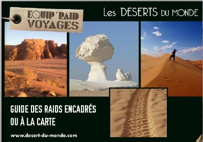 achetez catalogue les deserts de monde equip raid voyage au meilleur prix chez equip 39 raid. Black Bedroom Furniture Sets. Home Design Ideas