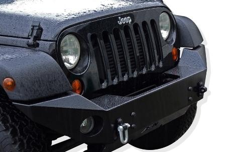 achetez afn pare choc avant afn avec support de treuil pour jeep wrangler jk a partir de 2007. Black Bedroom Furniture Sets. Home Design Ideas