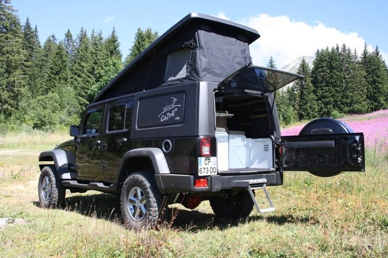 achetez gazell cellule gazell pour jeep wrangler jk version evolution au meilleur prix chez. Black Bedroom Furniture Sets. Home Design Ideas