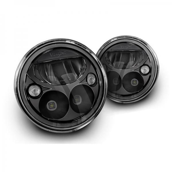 Jeep Jk Headlights >> Achetez Vision X - OPTIQUE / PHARE LED VISION-X VORTEX 7'' POUR JEEP WRANGLER JK DE CHEZ VISION ...