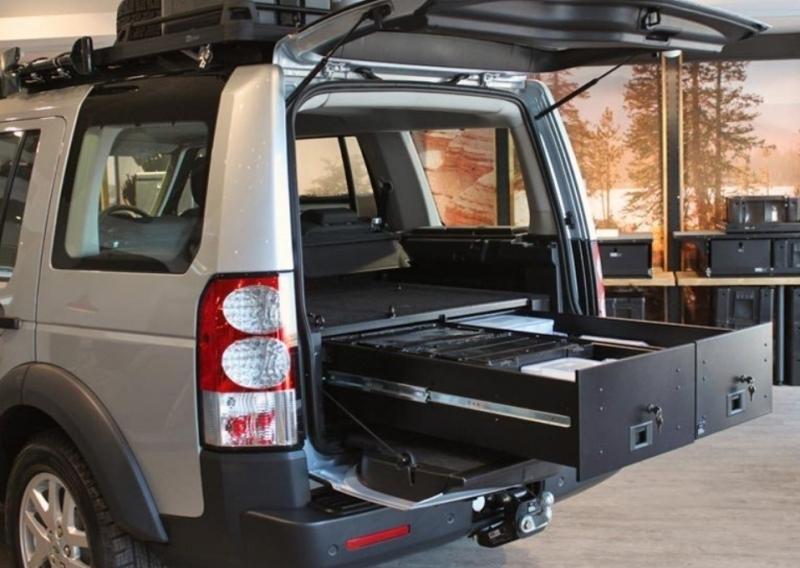 achetez frontrunner amenagement interieur tiroir double land rover discovery3 4 lr3 lr4. Black Bedroom Furniture Sets. Home Design Ideas