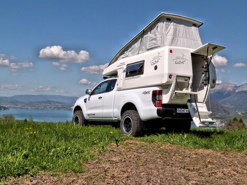 achetez gazell cellule 4x4 amovible double cabine vide gazell v2 au meilleur prix chez equip 39 raid. Black Bedroom Furniture Sets. Home Design Ideas