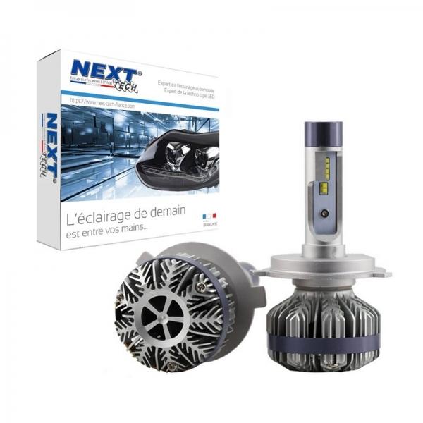 Achetez next tech ampoules h4 led ventilees compactes 75w blanc next tech au meilleur prix - Ampoule h4 led ...