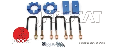 KIT CALES DE REHAUSSE SUSPENSION TOYOTA HILUX A PARTIR DE 2015