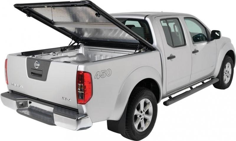 achetez tonneau cover en aluminium double cab pour nissan navara de 2005 a 2009 au meilleur prix. Black Bedroom Furniture Sets. Home Design Ideas