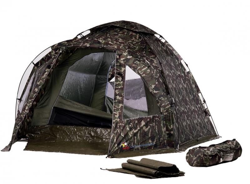 Achetez nova tente camu superbait 4 places montage for Tente 4 places 2 chambres