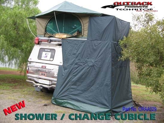 Achetez technitop cabine de douche pour tente de toit technitop au meilleur prix chez equip 39 raid - Cabine de douche camping ...