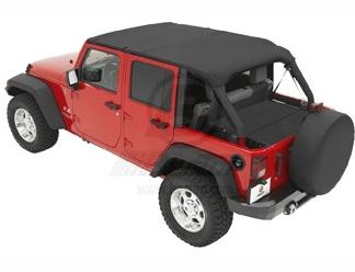Jeep Bimini Top >> Achetez Bestop - BACHE BIKINI HEADER BLACK DIAMOND POUR ...