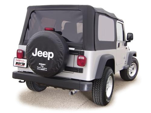 achetez borla kit silencieux avec tube de sortie borla pour jeep wrangler tj unlimited 4 0l de. Black Bedroom Furniture Sets. Home Design Ideas