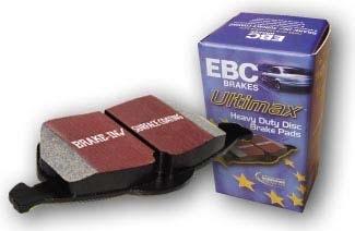 achetez ebc plaquettes de frein arriere ebc ultimax pour nissan patrol gr y61 au meilleur prix. Black Bedroom Furniture Sets. Home Design Ideas